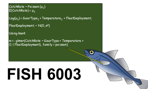 FISH 6003: Statistics and Study Design for Fisheries Science
